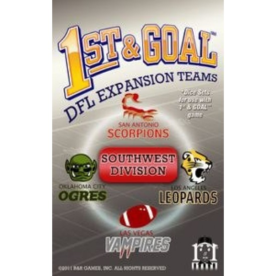 1st & Goal - South-West Division
