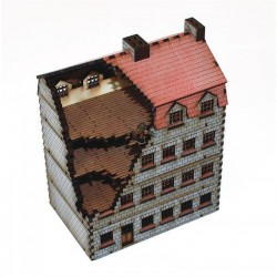 Damaged Stone Bank/Appartments (15 mm)