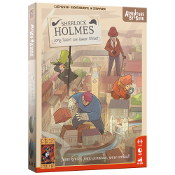 Adventure by Book - Sherlock Holmes - Jong Talent van Baker Street