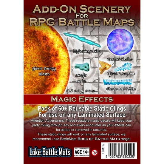 Add-On Scenery for RPG Maps - Magic Effects