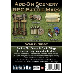 Add-On Scenery for RPG Maps - War & Siege