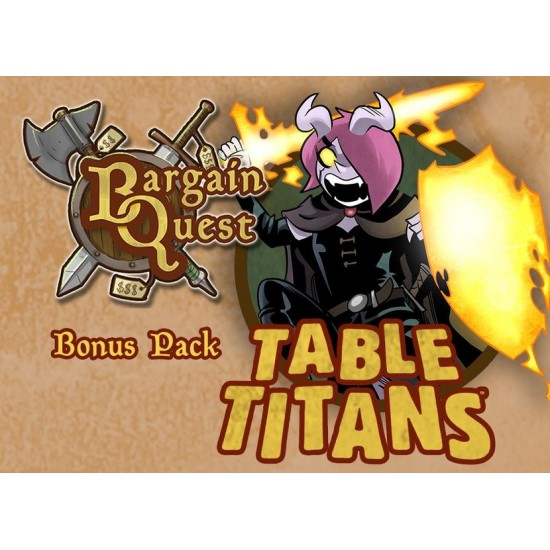 Bargain Quest - Table Titans Bonus Pack