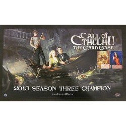 Call of Cthulhu LCG - 2013 Season Three Champion Playmat