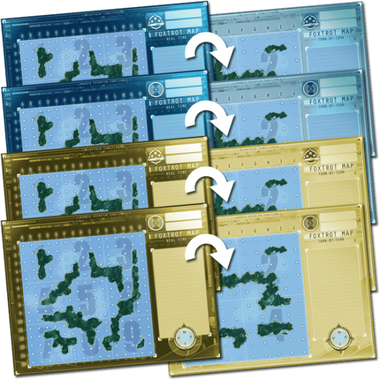 Captain Sonar - Foxtrot Map