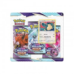 Chilling Reign 3-pack Blister - Snorlax