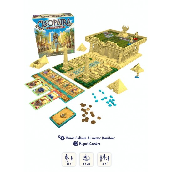 Cleopatra and the Society of Architects - Deluxe Editie - Premium Kickstarter Set