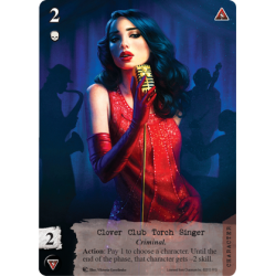 Call of Cthulhu LCG - Clover Club Torch Singer Alternative Art