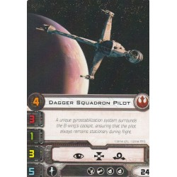 X-Wing - Dagger Squadron Pilot (Alternative Art)