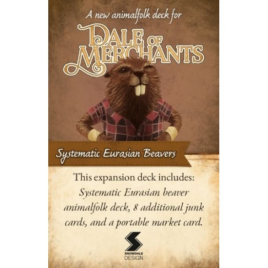 Dale of Merchants - Systematic Eurasian Beavers