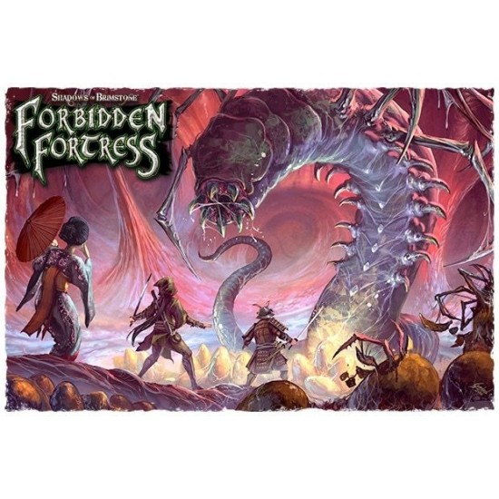 Shadows of Brimstone - Forbidden Fortress - Gastral Tyrant