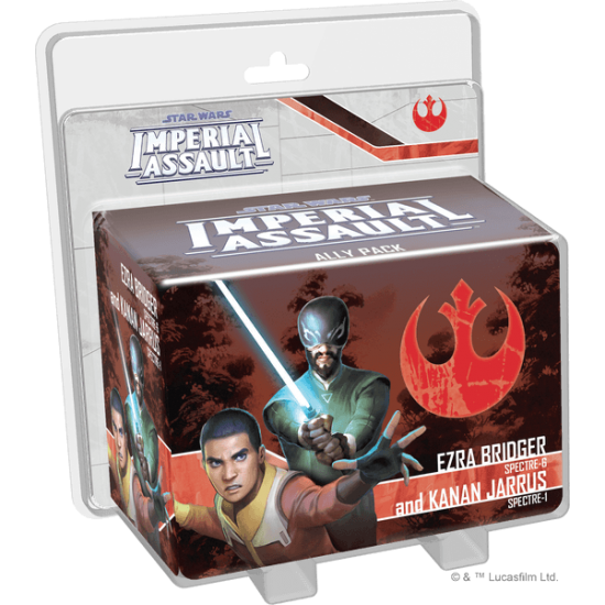 Imperial Assault - Ezra Bridger and Kanan Jarrus