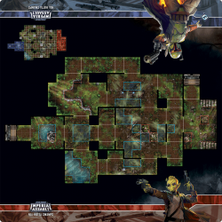 Imperial Assault - Playmat Nal Hutta Swamps (Mousepad fabric)