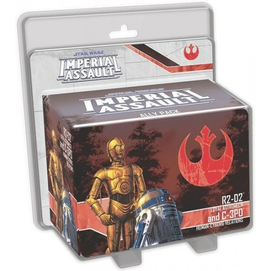 Imperial Assault - R2-D2 and C-3PO