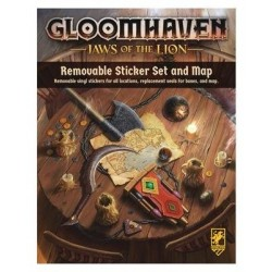 Gloomhaven - Jaws of the Lion - Removable Sticker Set