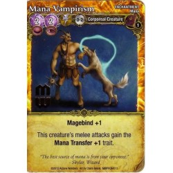 Mage Wars - Mana Vampirism (with foil stamp)