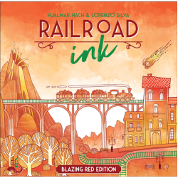 Railroad Ink - Blazing Red Edition
