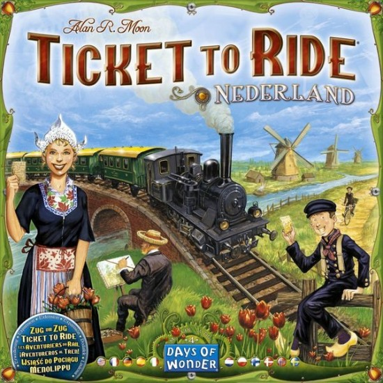Ticket to Ride - Map Collection 4 - Nederland