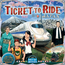 Ticket to Ride - Map Collection - Japan & Italy