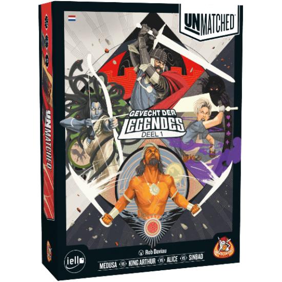 Unmatched - Battle of Legends Volume 1 + Foil Promo Pack