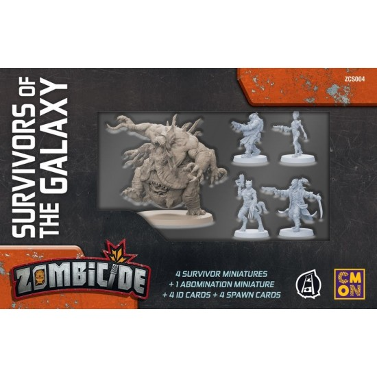 Zombicide Invader - Survivors of the Galaxy