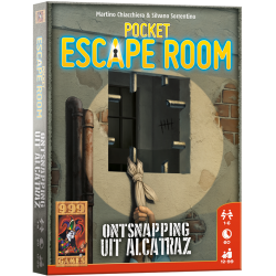 Pocket Escape Room - Ontspanning uit Alcatraz