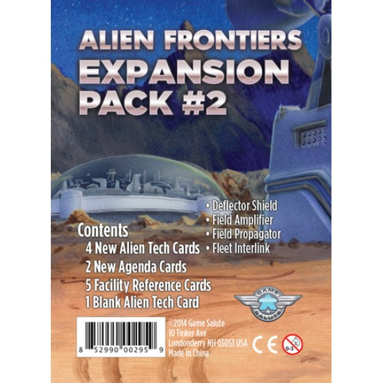 Alien Frontiers - Expansion Pack 2