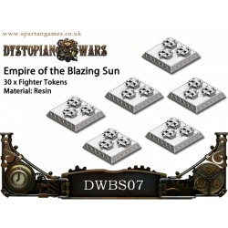 Empire of the Blazing Sun - Fighter Tokens