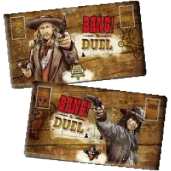Bang! The Duel - Playmat (Mousepad fabric)