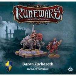 Runewars Miniatures Game - Baron Zachareth Hero