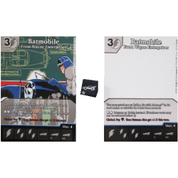 Dice Masters - Alternative Art - Batmobile x2 + Dobbelsteen