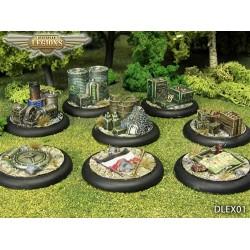 Dystopian Legions - Battlefield Tokens