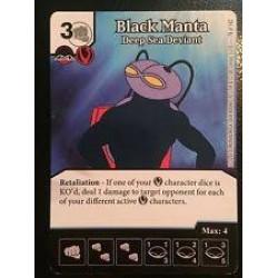 Dice Masters - Alternative Art - Black Manta