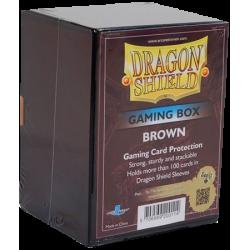 100 Card Box - Brown