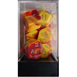 Polydice - Gemini - Red/Yellow