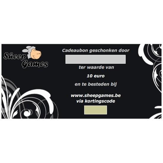 Cadeaubon - Waarde 10 euro