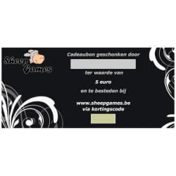Cadeaubon - Waarde 5 euro
