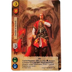 A Game of Thrones LCG - Castellan of the Rock Alternate Art