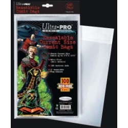 Comic Sleeves - Current Size (100 Pcs - Ultrapro)