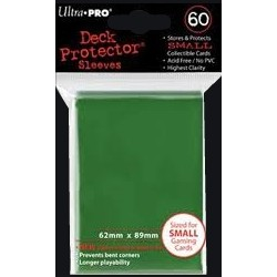Sleeves -  CCG Green (50 pcs - Ultrapro)