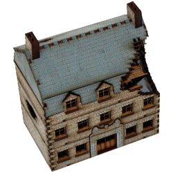 Damaged Grand Stone Hotel (15 mm)
