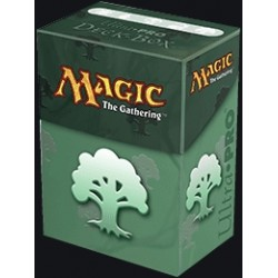 MTG Top Loading Deckbox - Mana Symbol Green