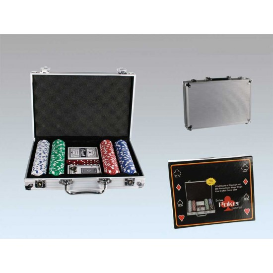 Deluxe Poker Game Set