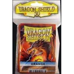 Sleeves - CCG Orange - (50 pcs - Dragon Shield)