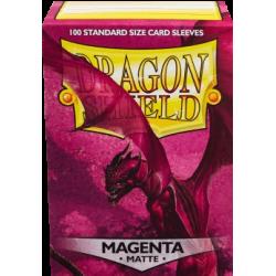 Sleeves - CCG Magenta (100 pcs - Dragon Shield)