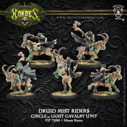 Circle Orboros - Druid Mist Riders