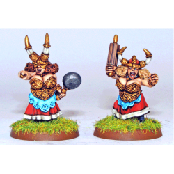 Dwarf Ladies - Iron Ladies