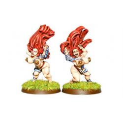 Dwarf Ladies - Shield Ladies