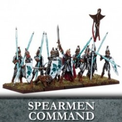 Elf Spearmen Command