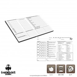 Folklore The Affliction - Character & Encounter Record Pads