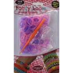 Fancy Loom Blister - Pink/Violet Bands (Glow in the Dark)